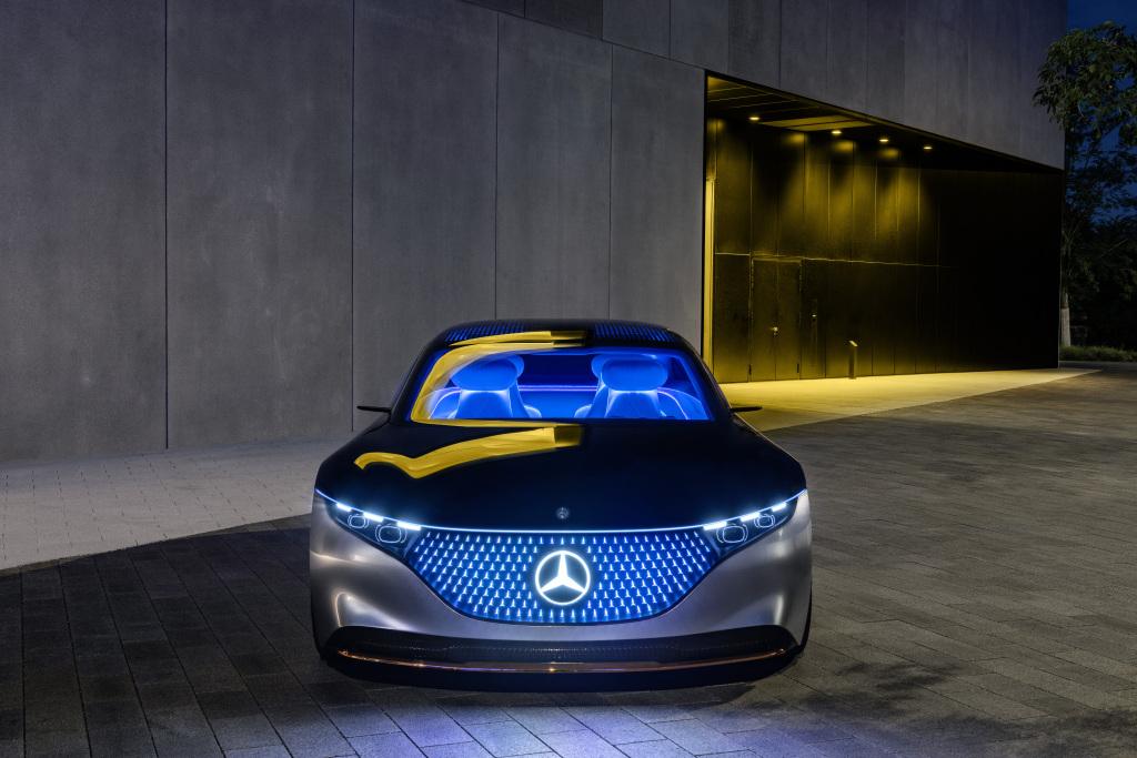 Concept Mercedes-Benz EQS tổng thể