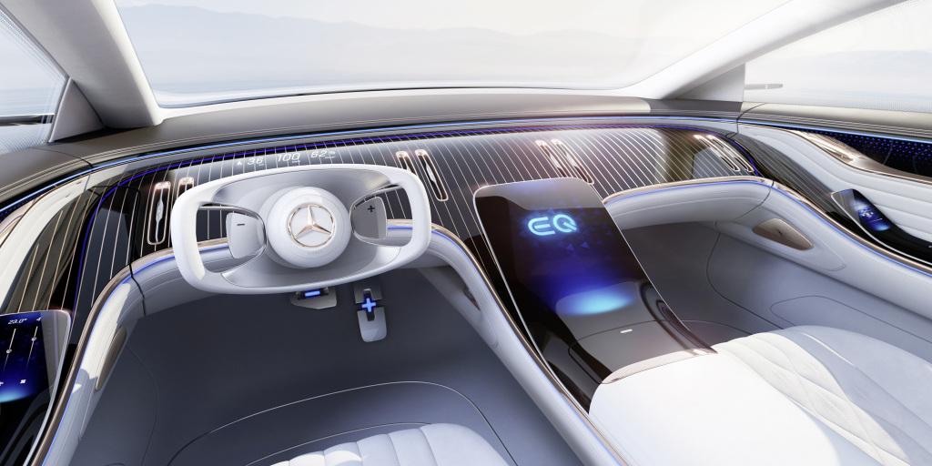 Concept Mercedes-Benz EQS nội thất